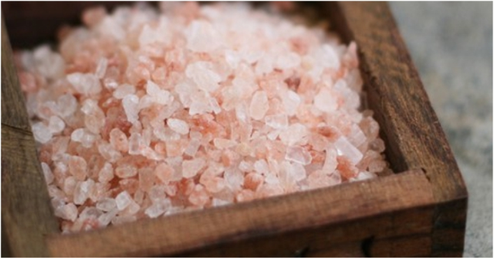pink salt - sal rosa do himalaia